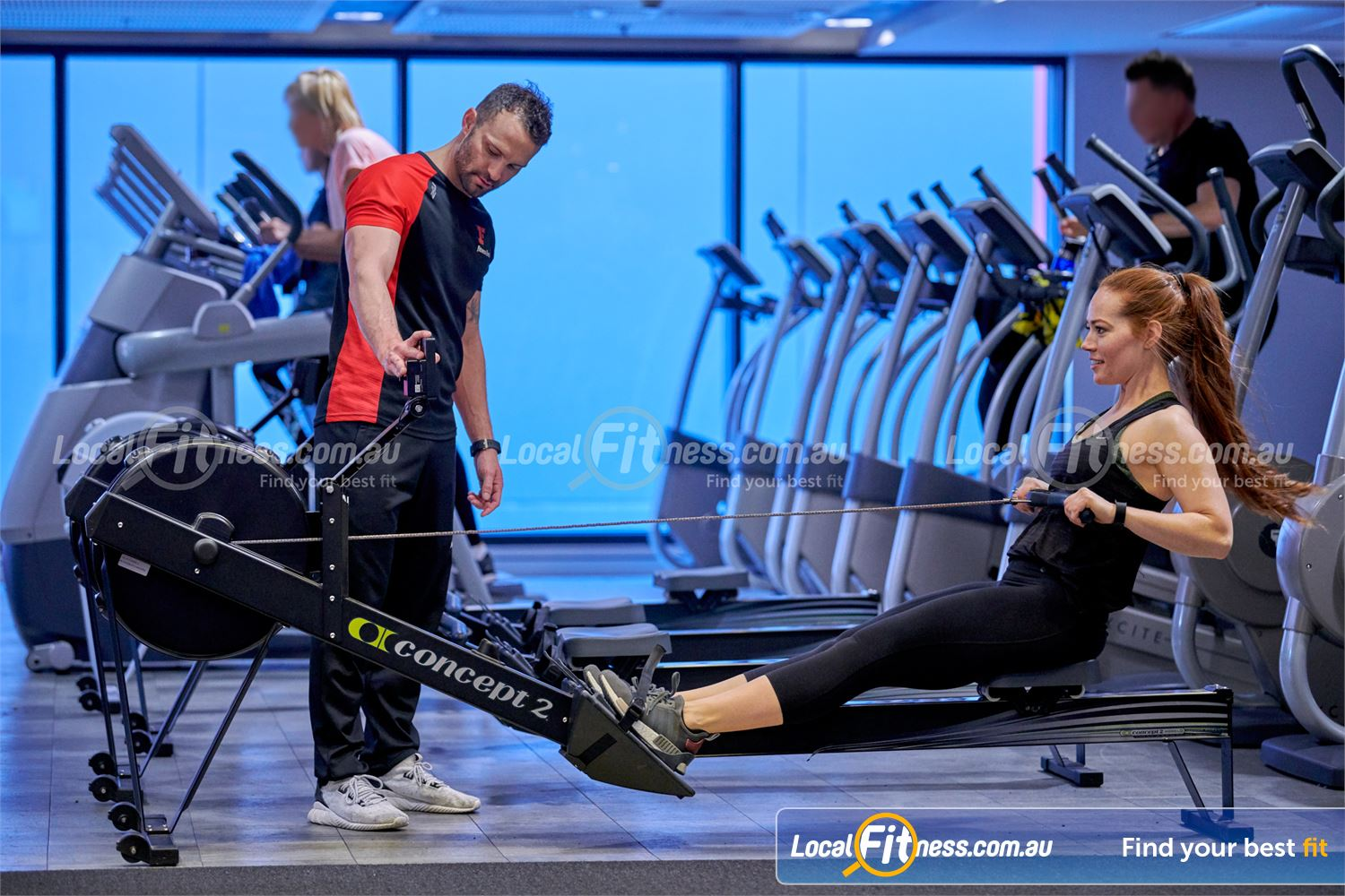 Fitness First Victoria Gardens Near Richmond North Our Richmond personal trainers can give you a HIIT rowing workout.