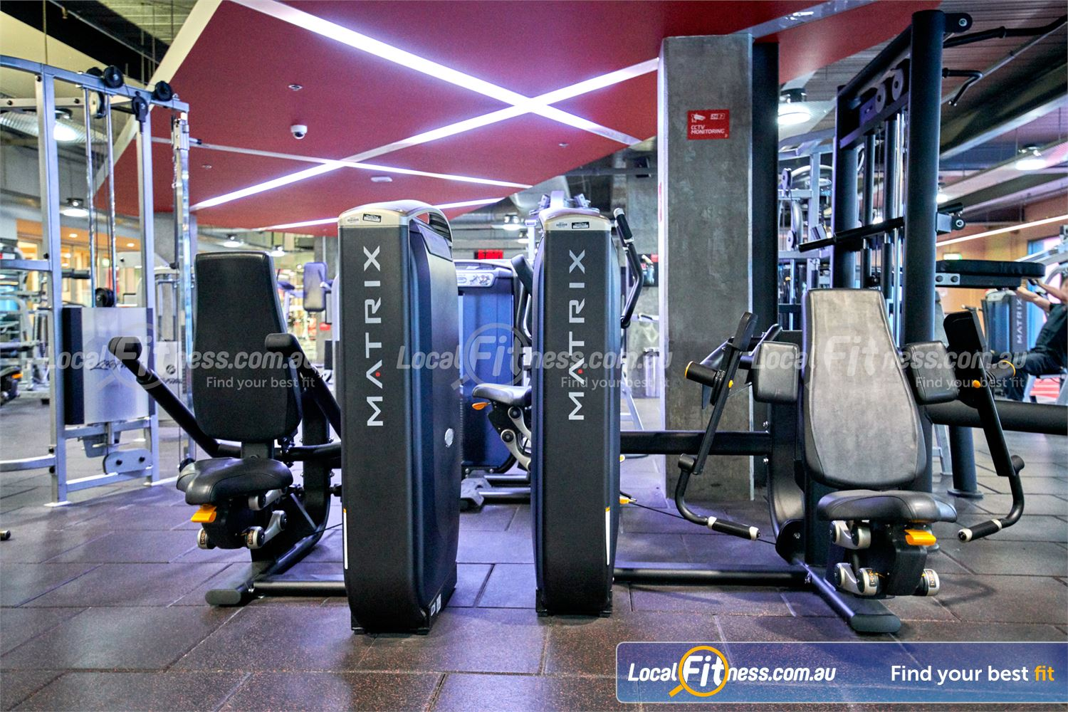 Fitness First Victoria Gardens Near Toorak Our Richmond gym includes state of the art equipment from MATRIX.