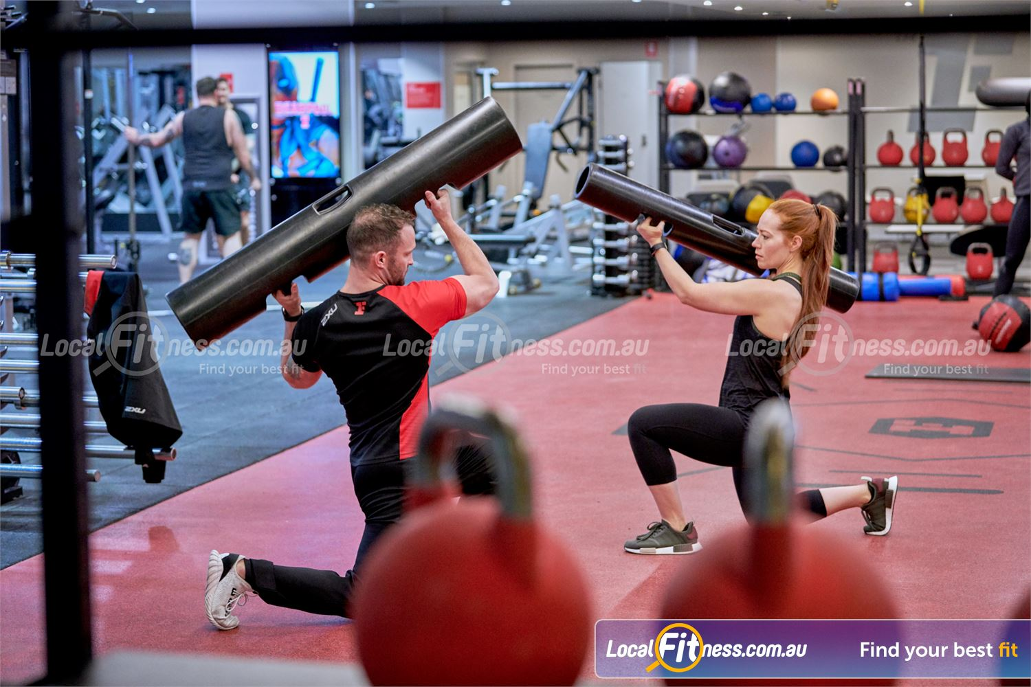 Fitness First Victoria Gardens Near Toorak Get into ViPR training at Fitness First Richmond gym.
