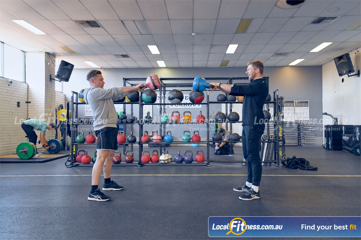 Goodlife Health Clubs Near Ashwood Vary your training to include kettlebells in our Glen Iris gym.