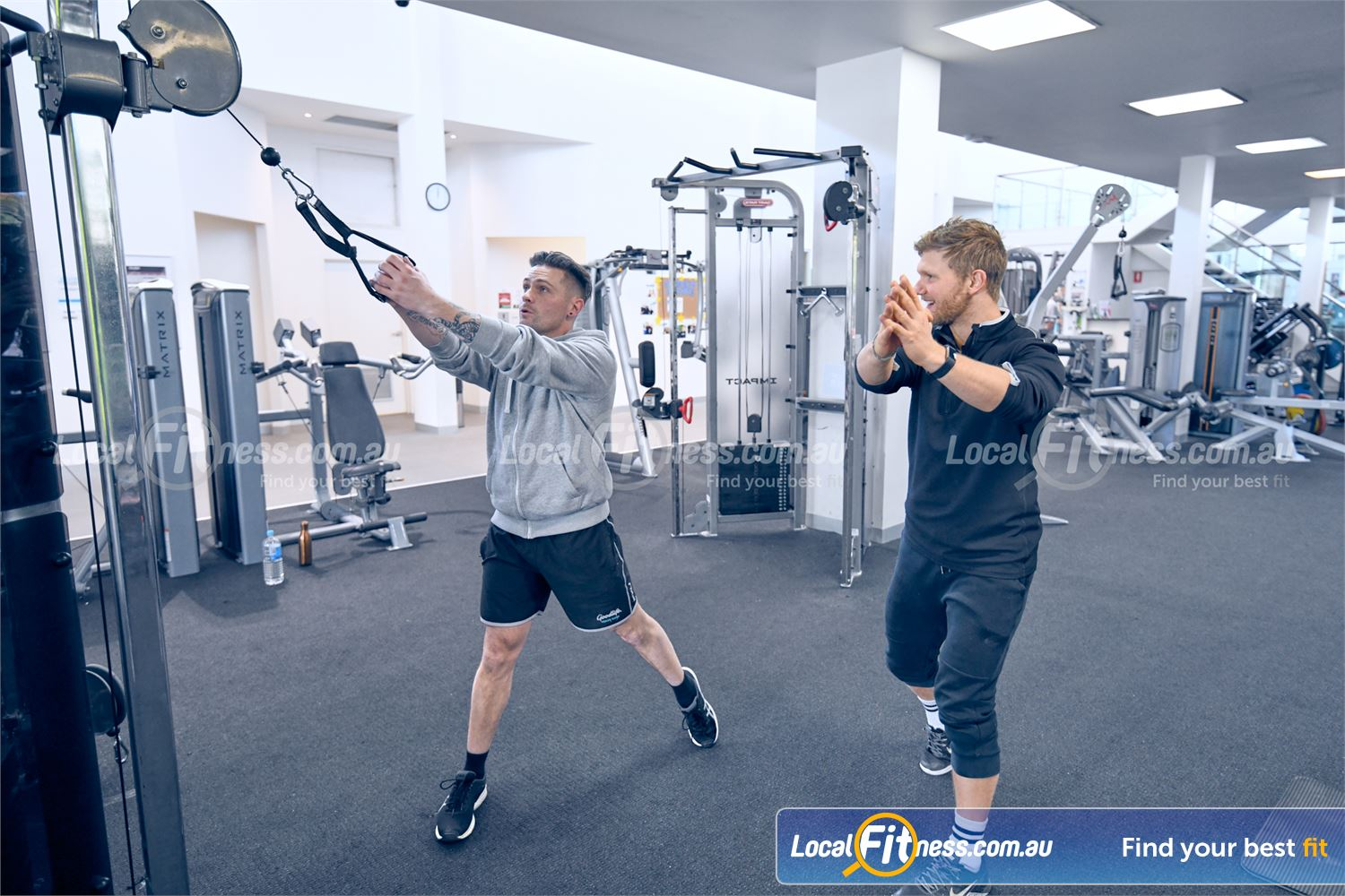 Goodlife Health Clubs Near Ashwood Our Glen Iris gym team can help you with your strength training goals.