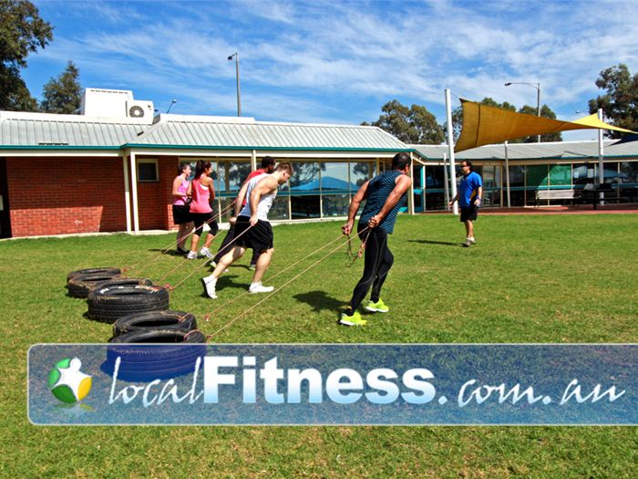 St Albans Leisure Centre Near Keilor Lodge Pull tires, lift kettle bells, cardio boxing yourself into fitness.