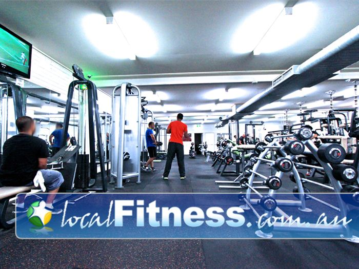 St Albans Leisure Centre Keilor Downs Full range of dumbbells and barbells.