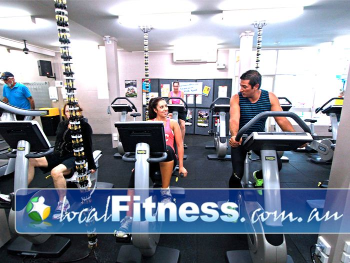 St Albans Leisure Centre Keilor Downs Enjoy the friendly environment at the St Albans gym cardio area.