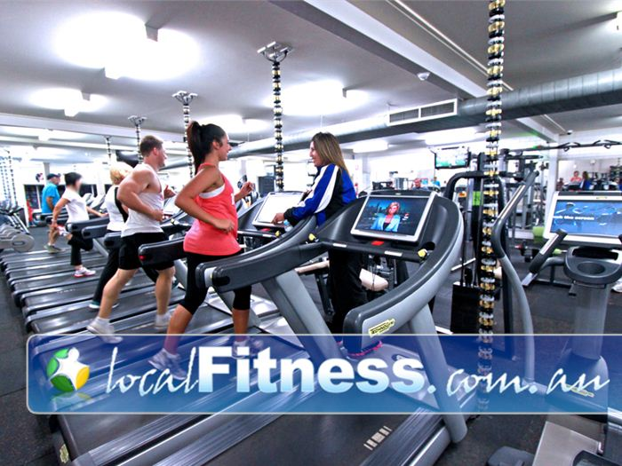 St Albans Leisure Centre Ardeer Gym Fitness Full range of cardio including