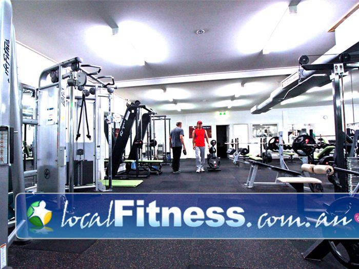 St Albans Leisure Centre Near Keilor Lodge The new spacious St Albans gym layout.