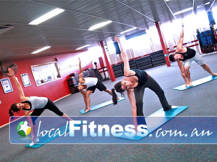 St Albans Leisure Centre Keilor Downs The spacious and naturally lit aerobics studio in St Albans.
