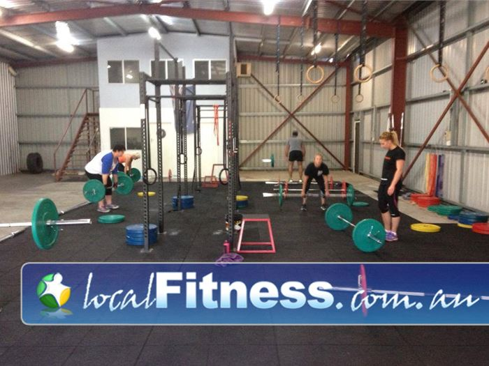 CrossFit Proficient Windsor Gardens Fully equipped with olmypic lifting equipment and a Crossfit training rig.