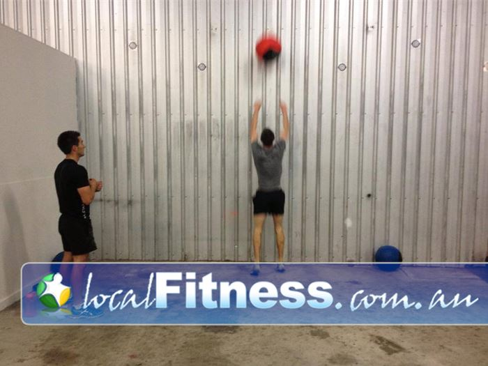 CrossFit Proficient Gym St Agnes  | We incorporate wall balls and body weight training