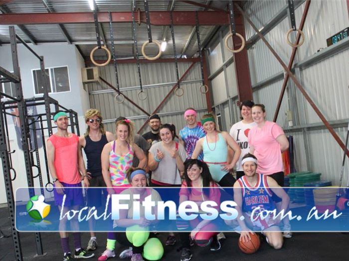 CrossFit Proficient Near Valley View Theme workout sessions keeps our training fun and enjoyable.
