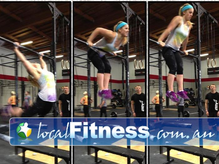 CrossFit Proficient Near Walkley Heights We will help you on your journey to your first muscle up.