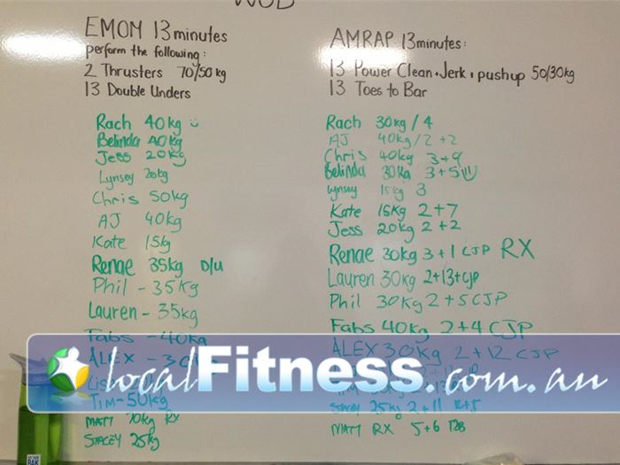 CrossFit Proficient Near Holden Hill We always plan our Workouts of the Day.