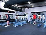 One of the largest free-weights training areas in