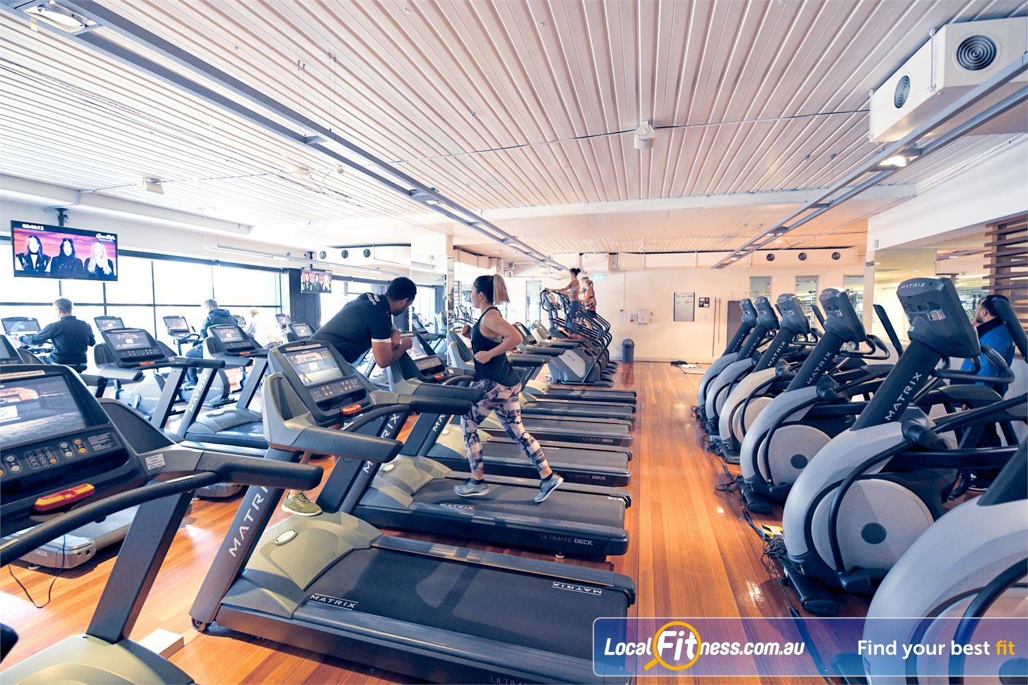 Goodlife Health Clubs Near Brooklyn Our Port Melbourne gym includes state of the art cardio from MATRIX.
