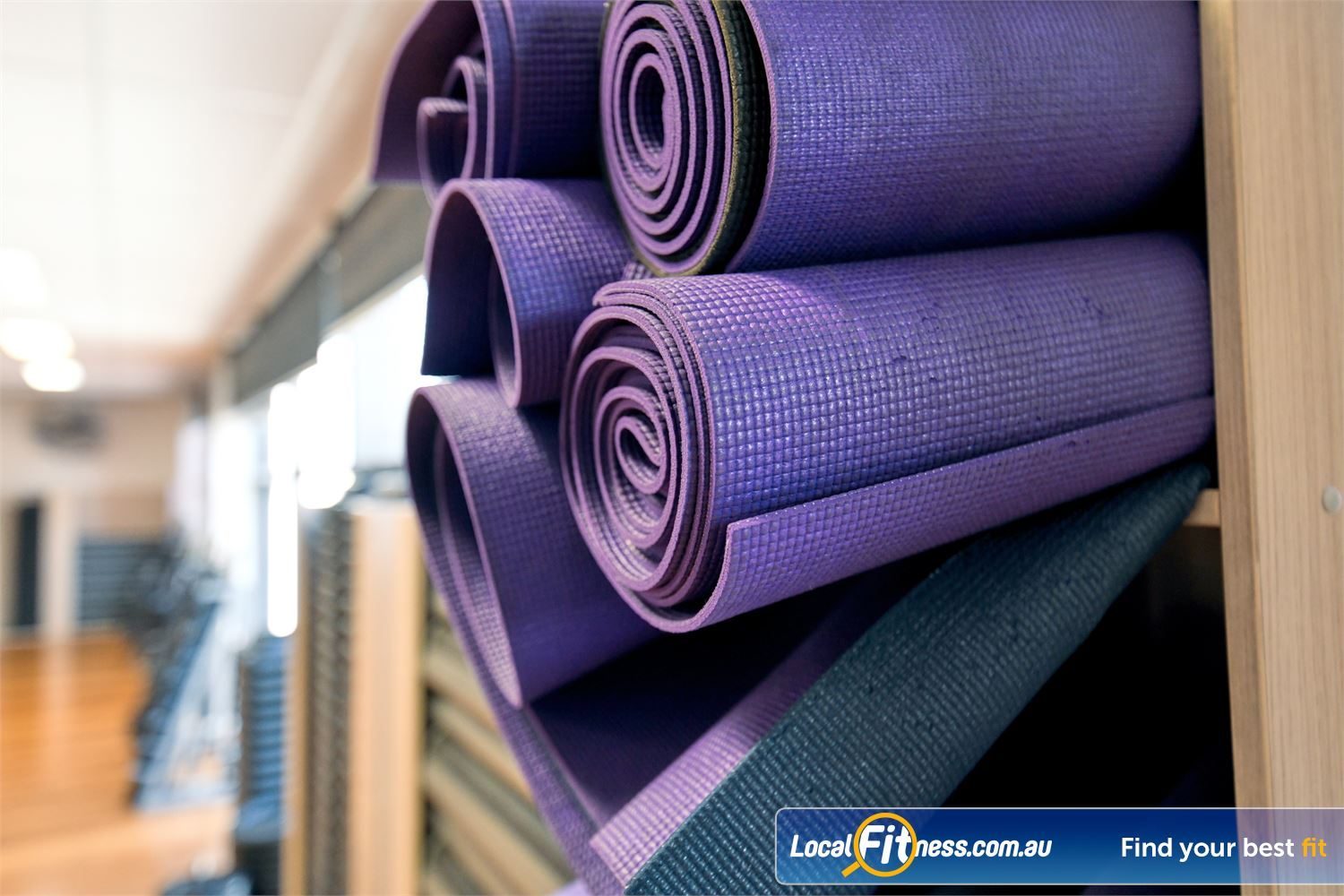 Goodlife Health Clubs Port Melbourne Relax with our range of Port Melbourne Yoga and Pilates classes.