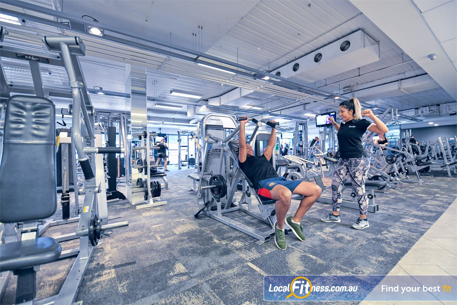 Goodlife Health Clubs Near Brooklyn Our Port Melbourne gym team can tailor a program designed to build your strength.