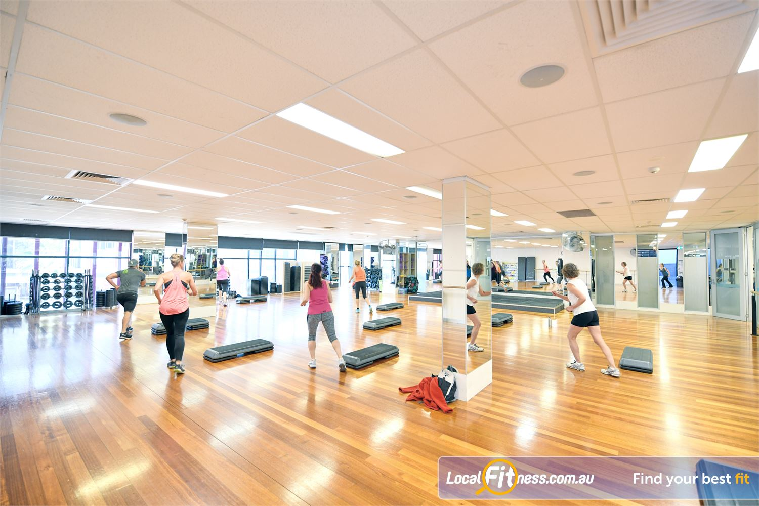 Goodlife Health Clubs Near Bulla Over 55 group fitness classes per week inc. Port Melbourne Zumba.