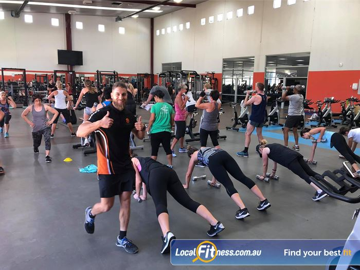 South Pacific Health Clubs HIIT Melbourne  | Join in on our many Williamstown HIIT classes.