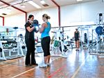 South Pacific Health Clubs Newport Gym GymThe weights area spans over two