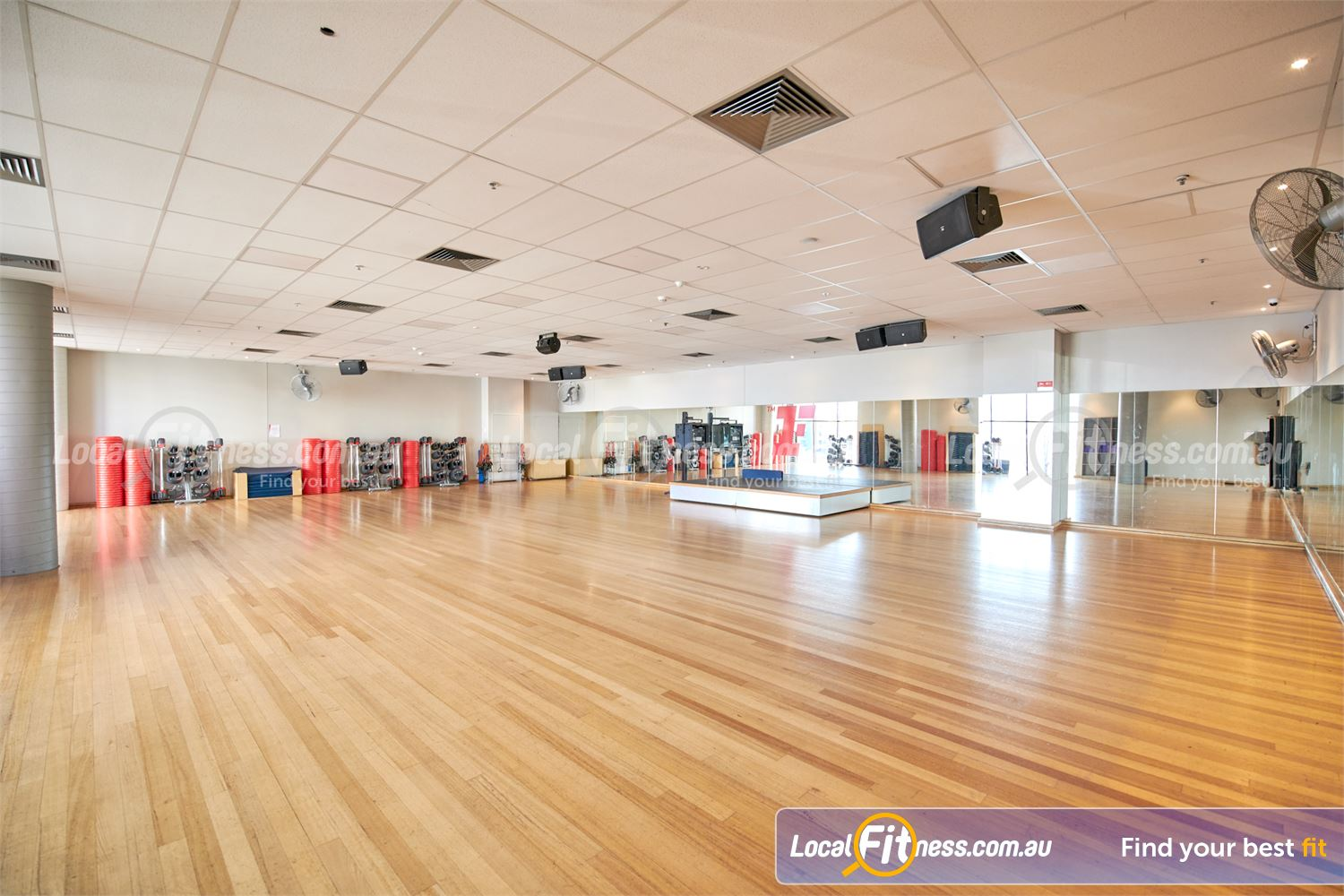 Fitness First Near Blackburn North Over 80 classes per week inc. Doncaster Yoga, Pilates, Zumba and more.