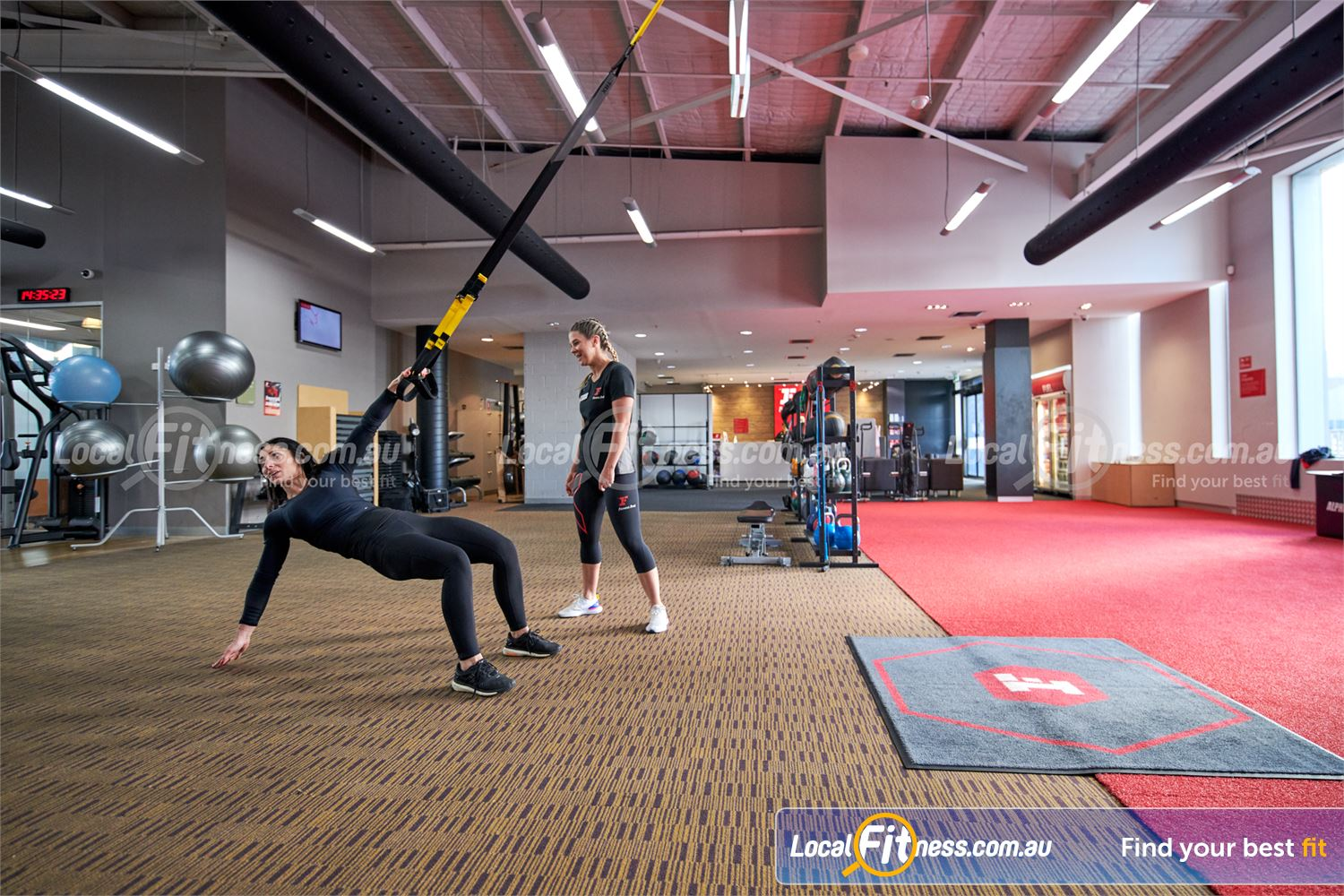Fitness First Near Mont Albert North Our Doncaster personal trainers can strengthen your core with TRX training.