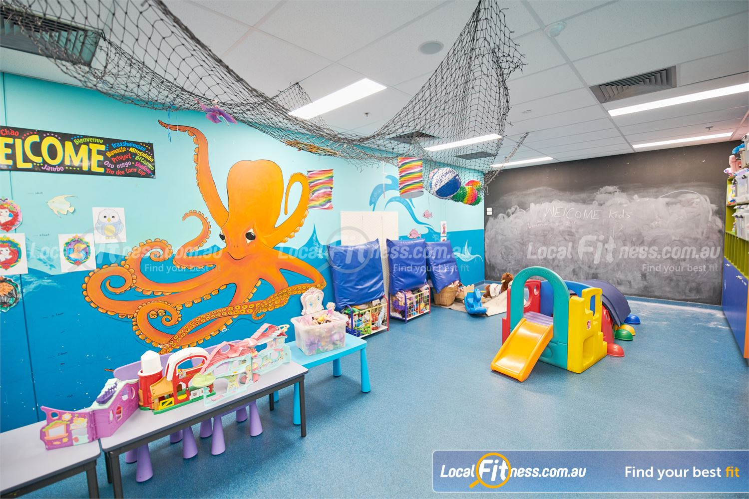 Fitness First Near Mont Albert North Take care of your health while your kids play in our Doncaster Creche.