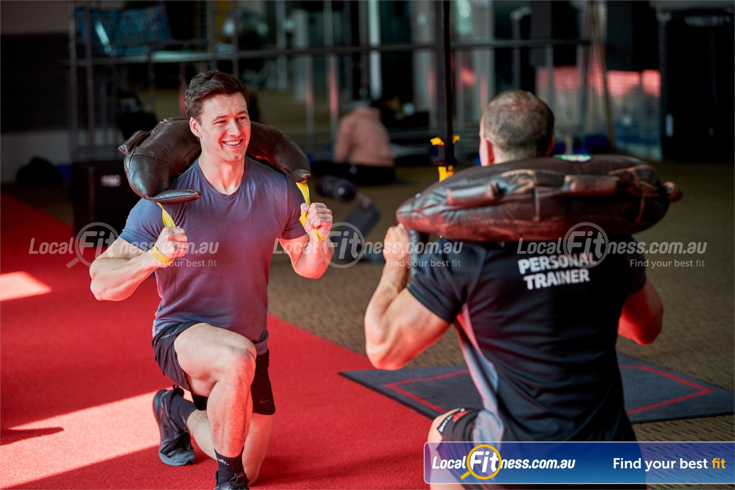 Fitness First Near Blackburn North Get functional with Bulgarian bags, battle ropes, kettlebells and more.