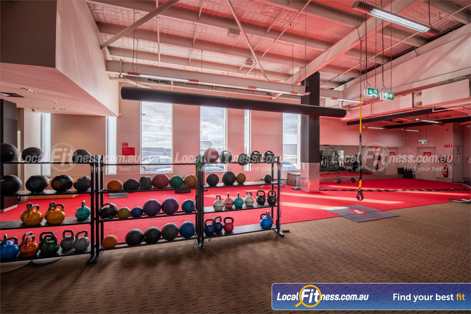 Fitness First Doncaster The dedicated freestyle functional area at Fitness First Doncaster.