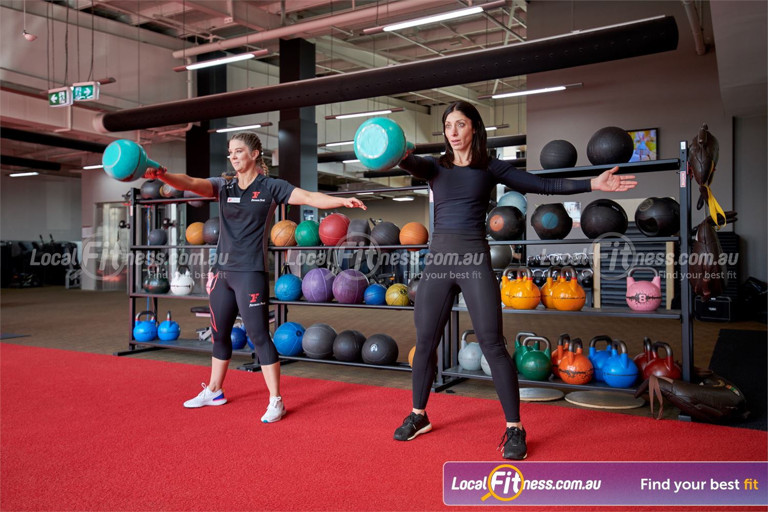 Fitness First Near Box Hill North Our Doncaster gym team can show you the benefits of kettlebell training.