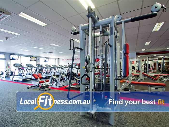 Snap Fitness Spearwood State of the art pin-loading machines.