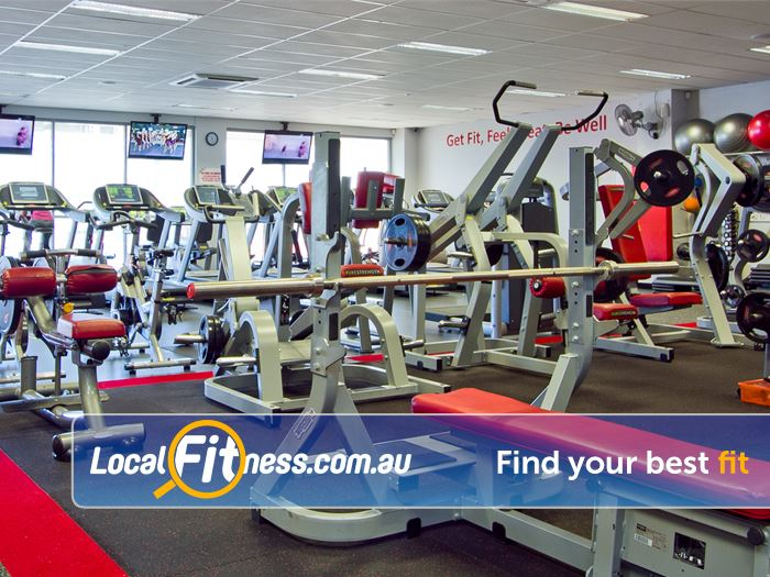 Snap Fitness Spearwood Squat racks, smith machine, benches, plate loading machines and more.