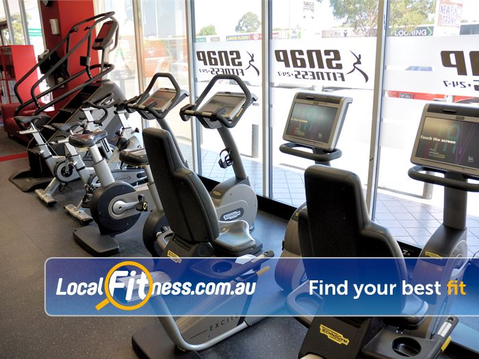 Snap Fitness Near Coogee Enjoy the latest cardio equipment with personal entertainment screens.