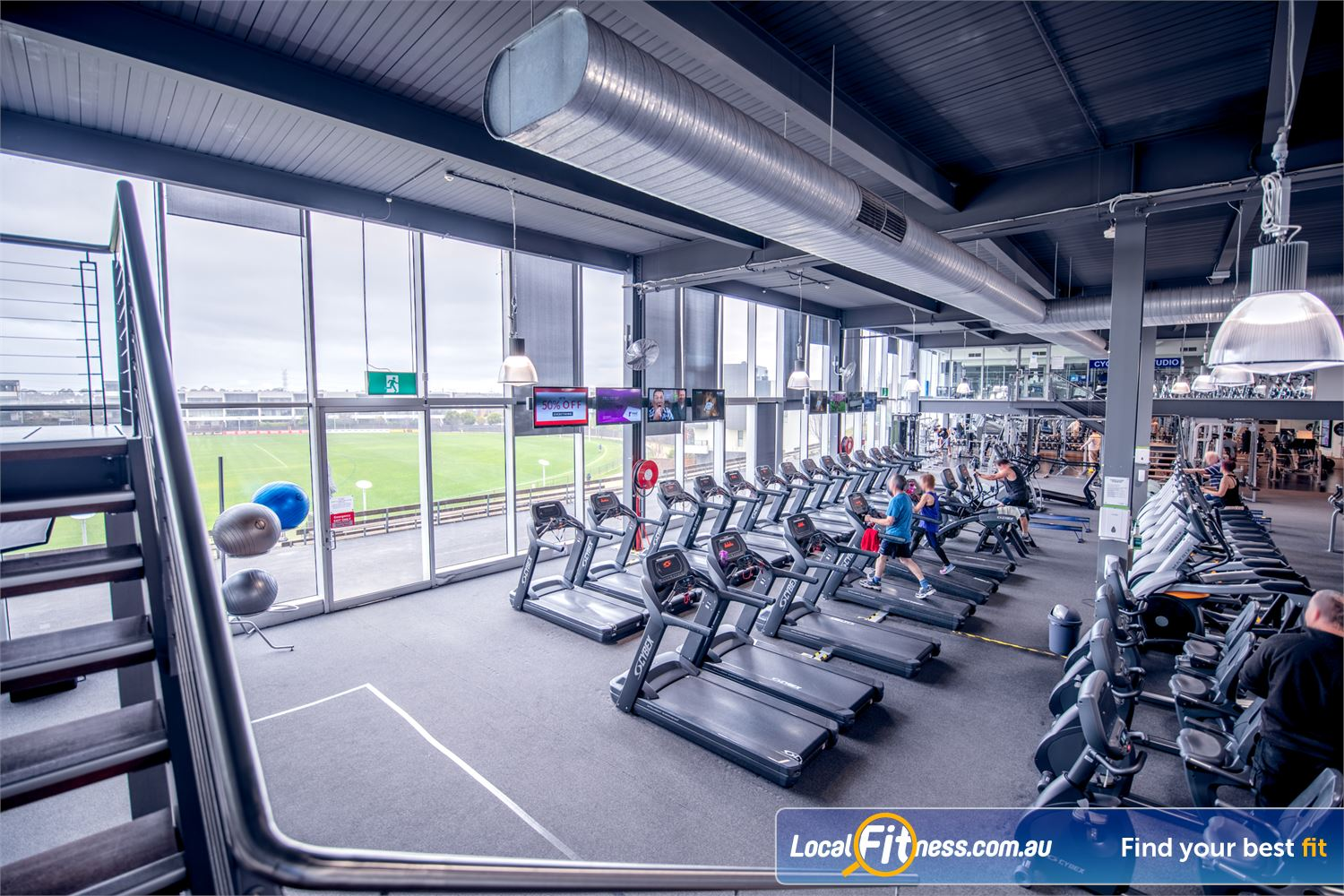 Goodlife Health Clubs Waverley Park Mulgrave Welcome to the iconic Goodlife Waverley Park gym.
