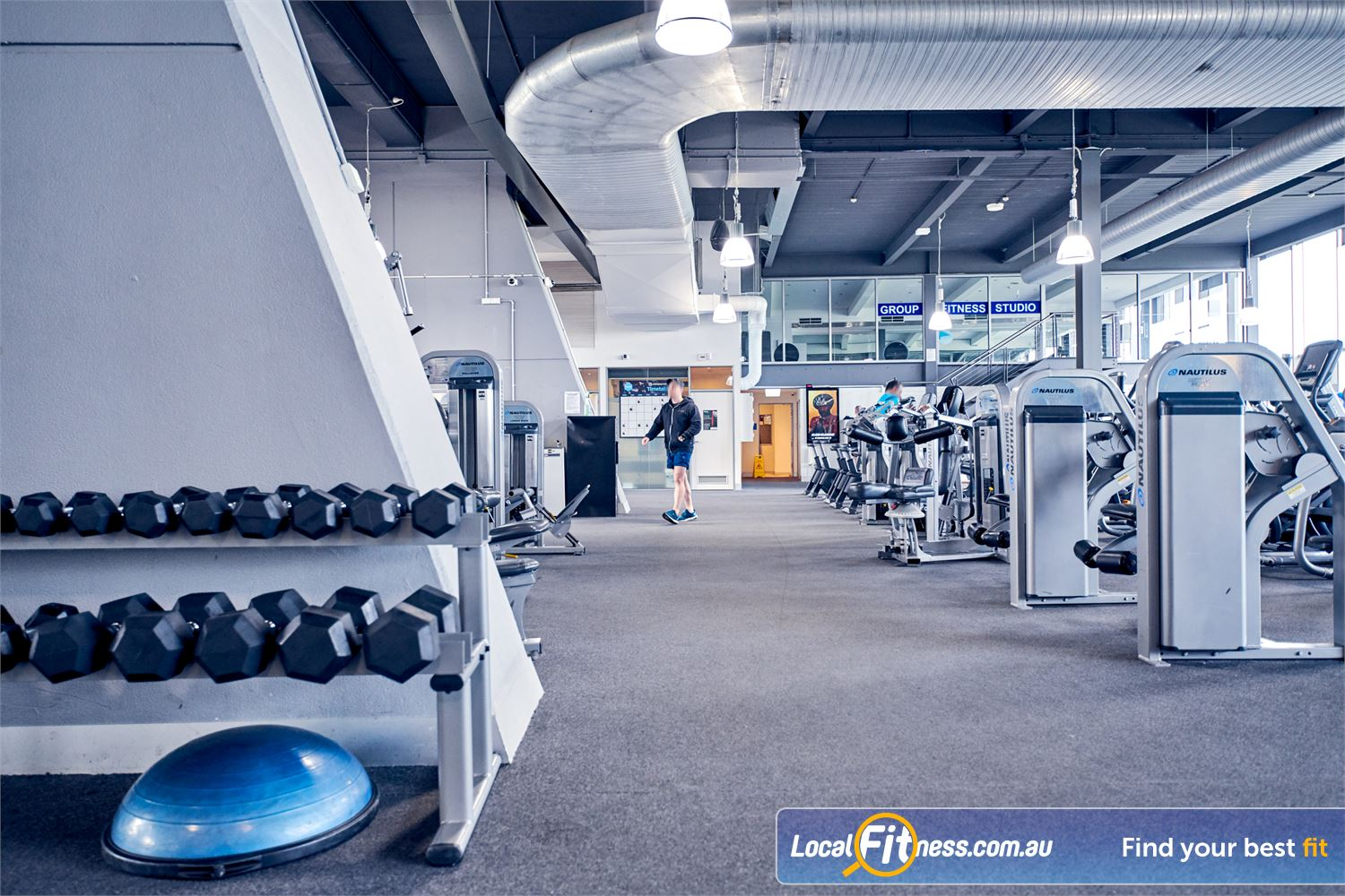 Goodlife Health Clubs Waverley Park Mulgrave State of the art equipment from Nautilus in our modern Mulgrave gym.