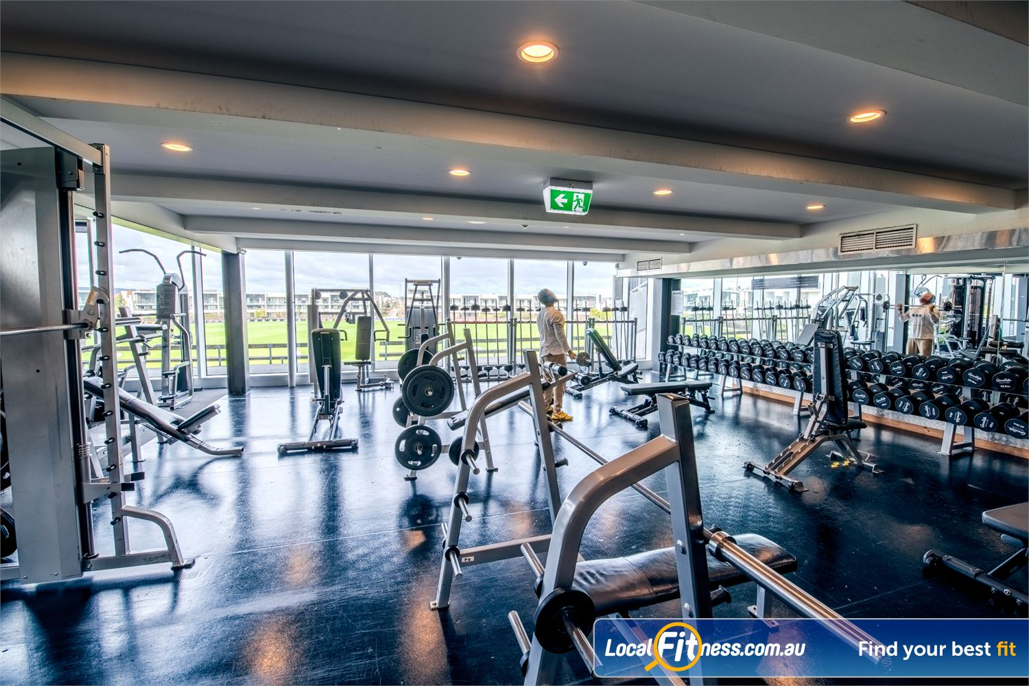 Goodlife Health Clubs Waverley Park Near Noble Park Our Mulgrave gym provides a fully equipped free-weights area.