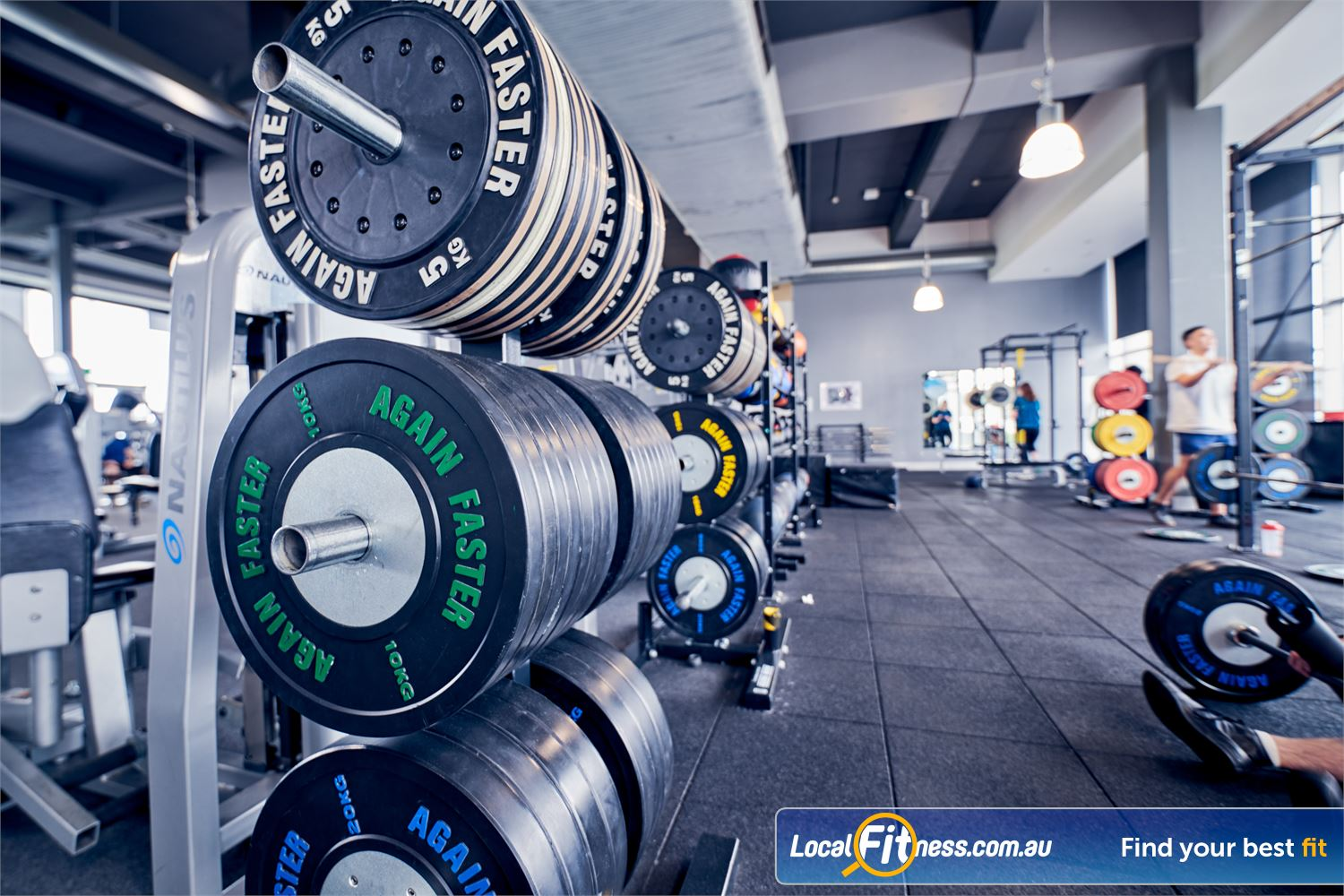 Goodlife Health Clubs Waverley Park Near Noble Park North Our Waverley Park gym includes a dedicated functional training area.