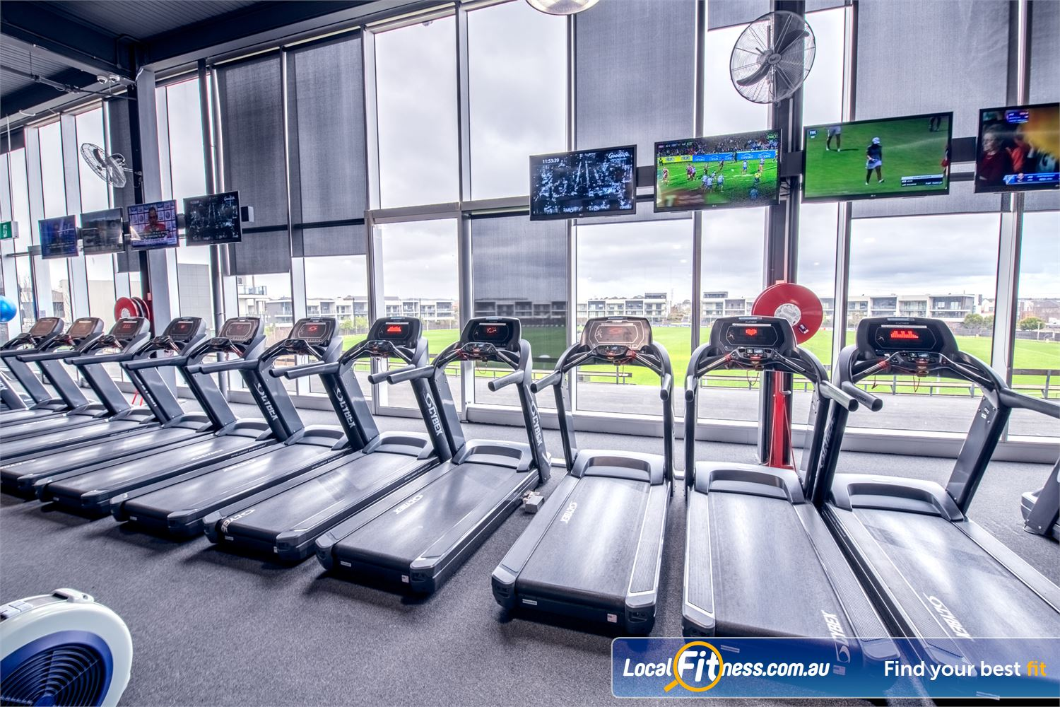 Goodlife Health Clubs Waverley Park Near Noble Park North Watch your favorite shows while training on our state of the art treadmills.