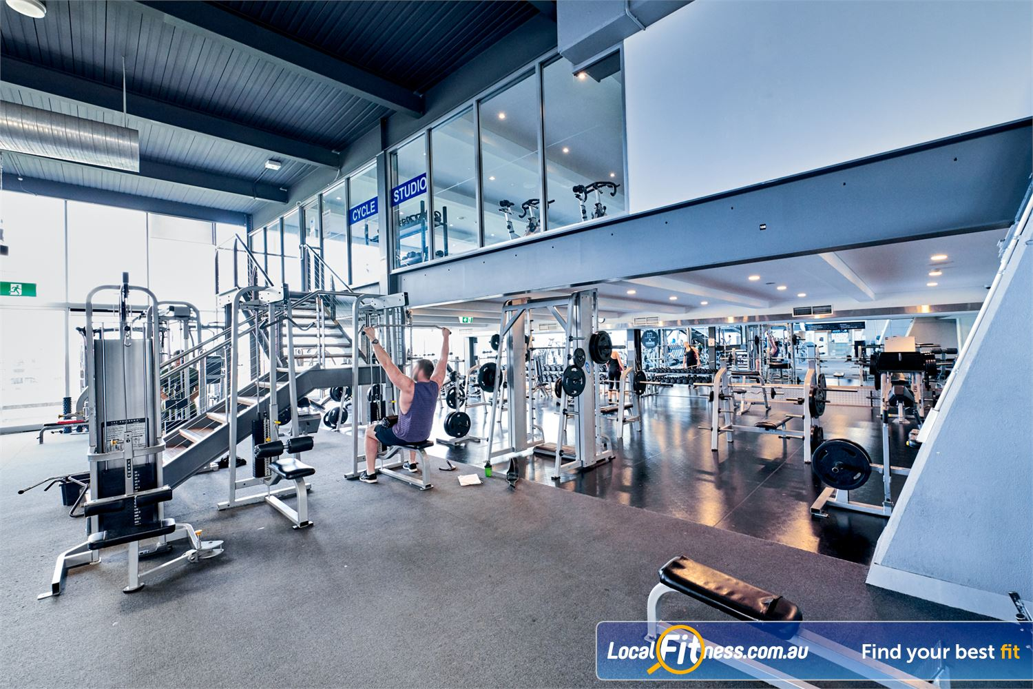 Goodlife Health Clubs Waverley Park Near Noble Park Our Mulgrave gym includes multiple lat pull-downs so you don't have to wait.