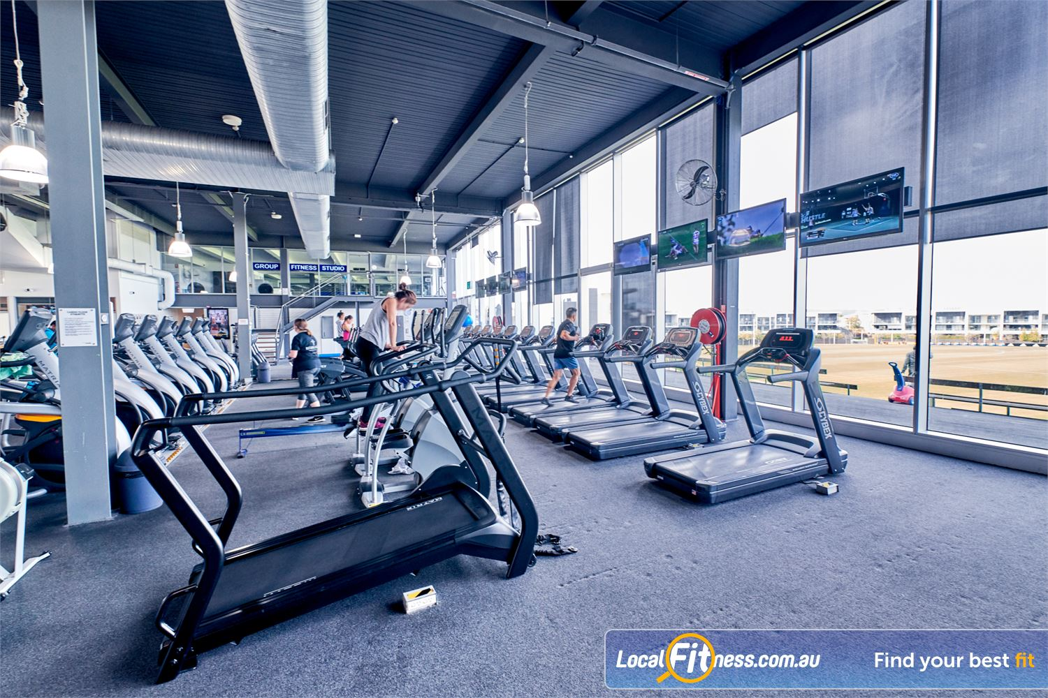Goodlife Health Clubs Waverley Park Mulgrave The latest technology includes the functional cardio S-Drive performance trainer.