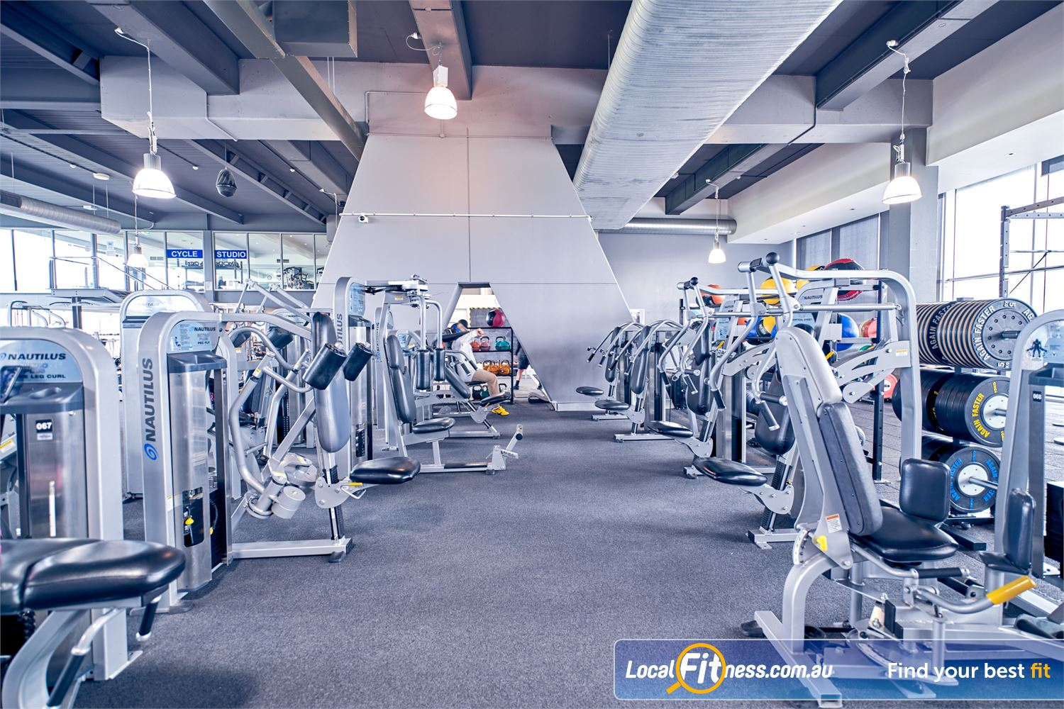 Goodlife Health Clubs Waverley Park Near Springvale Our Mulgrave gym includes state of the art pin-loading machines from Nautilus.