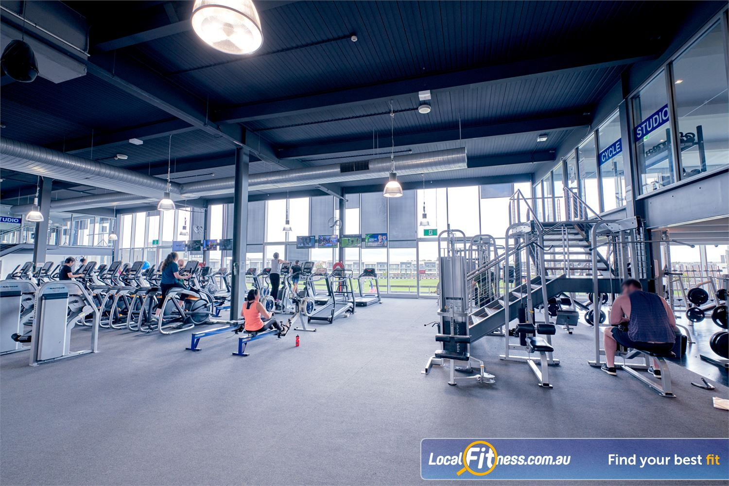 Goodlife Health Clubs Waverley Park Mulgrave Our large open-space Waverley Park gym is open 24/7.