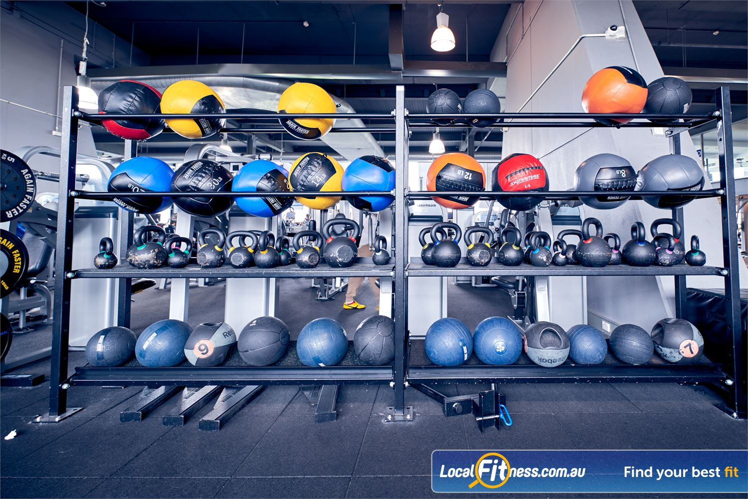 Goodlife Health Clubs Waverley Park Near Springvale Our functional area is fully equipped with kettlebells, dead balls, wall balls and more.
