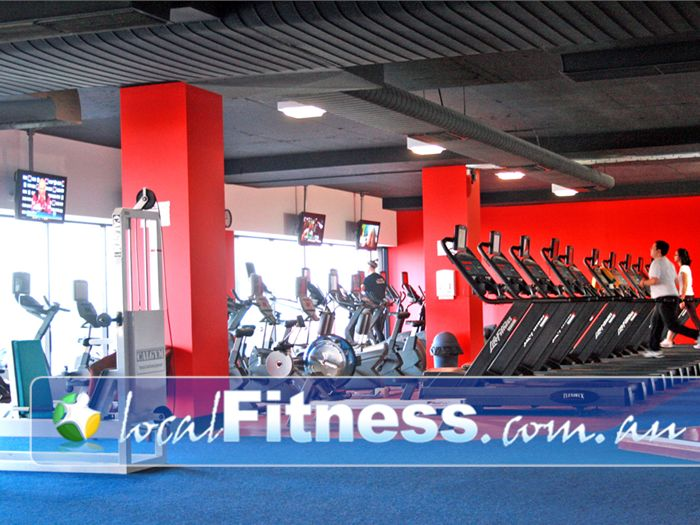 Re-Creation Health Clubs Brighton East The spacious cardio area in Brighton East.