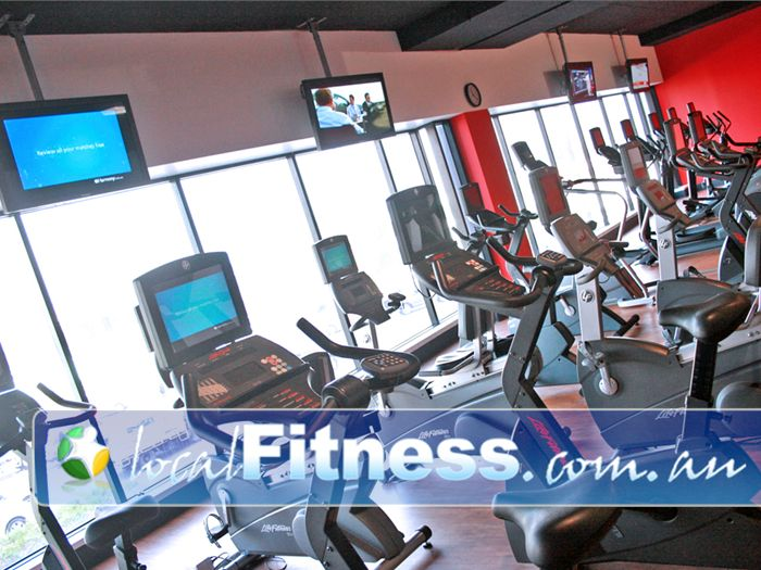 Re-Creation Health Clubs Near Hampton Tune into your favorite show while you workout.
