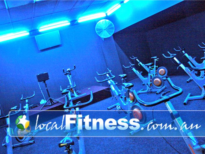 Re-Creation Health Clubs Brighton East Twilight cycling in our Brighton East cycle studio.