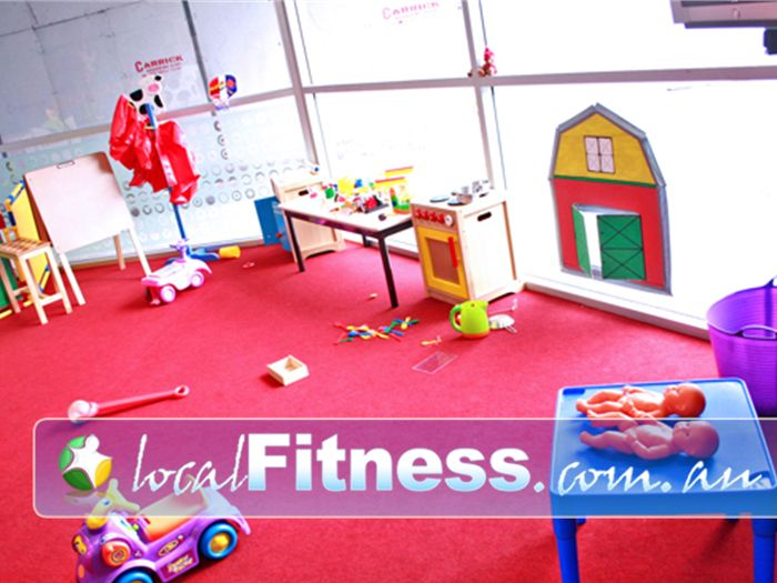 Re-Creation Health Clubs Brighton East Plenty of toys and activities for your children.<br />