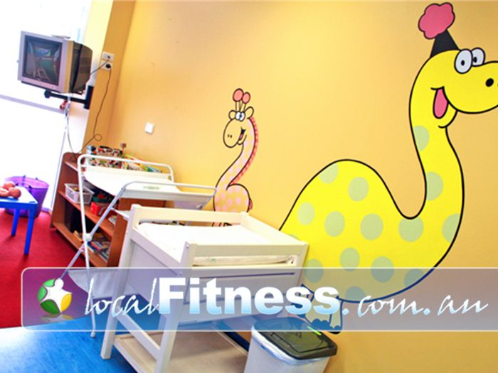Re-Creation Health Clubs Brighton East Baby facilities available.