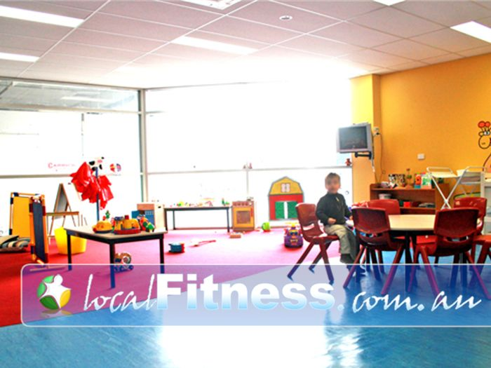 Re-Creation Health Clubs Near Bentleigh on-site childcare service in our Brighton East gym.<br /><br />
