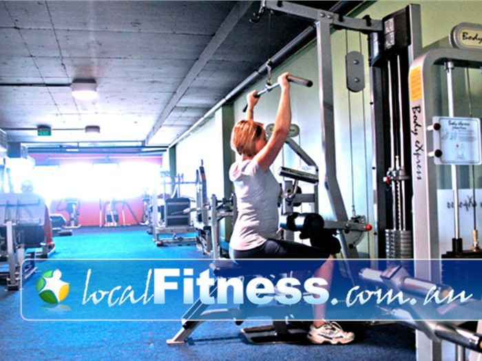 Re-Creation Health Clubs Brighton East A spacious and comfortable ladies gym.