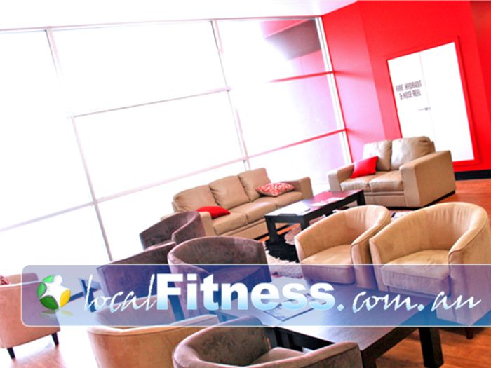 Re-Creation Health Clubs Brighton East Relax and socialise with our friendly members and staff.